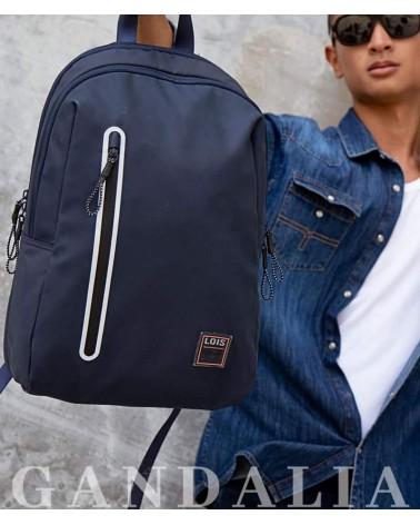 Foto mochila Lois Jeans de frente