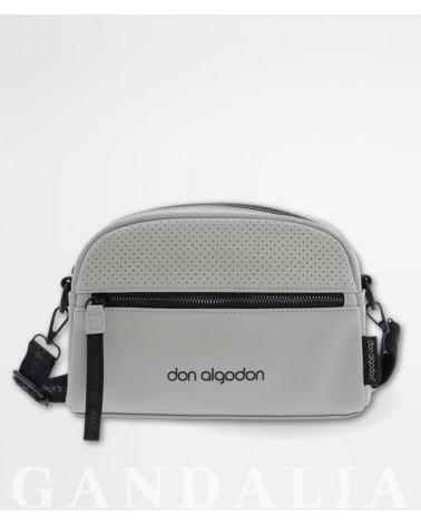 Foto bolso verde Don Algodón de frente