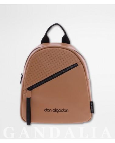 Foto mochila don algodón marrón